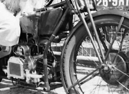 Douglas motorcycle - closer view 1