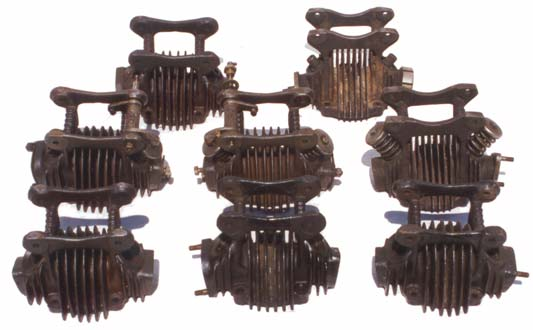 Douglas motorcycle cylinder heads type 1