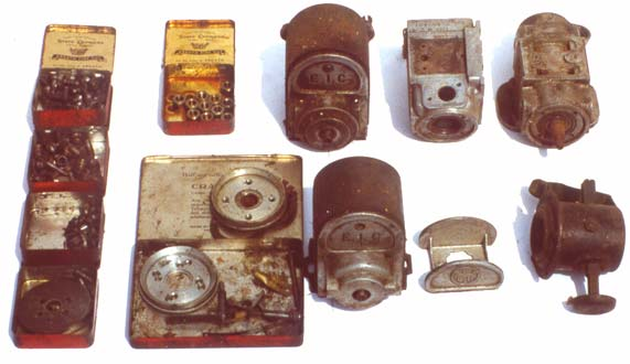 Douglas and/or Triumph motorcycle parts - Magentos and small parts 4