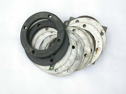 Douglas motorcycle shims and gaskets