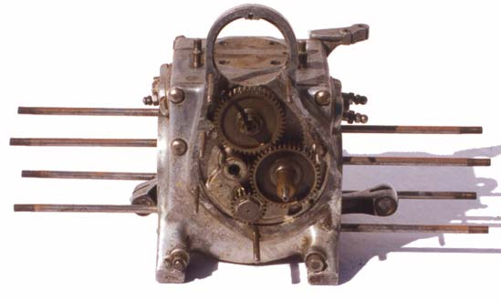 Douglas motorcycle engine1- serial OE566