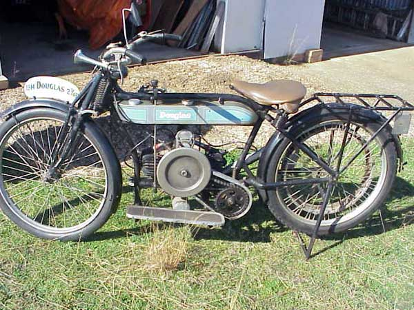 1914 Douglas motorcycle model O