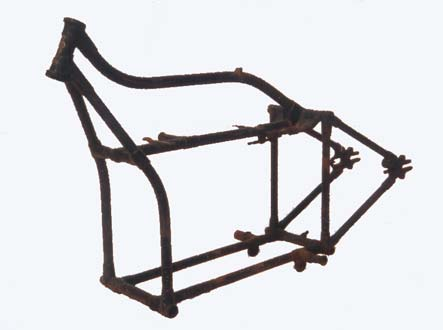 Douglas motorcycle frame serial 7..Z