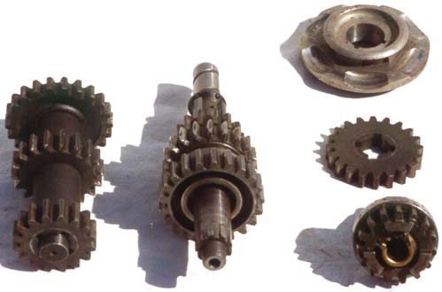 Douglas motorcycle gearbox parts 4