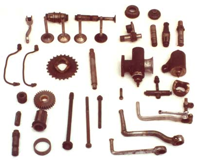 Douglas & Triumph motorcycle small parts 2-10