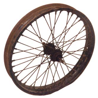 Douglas motorcycle wheel  2