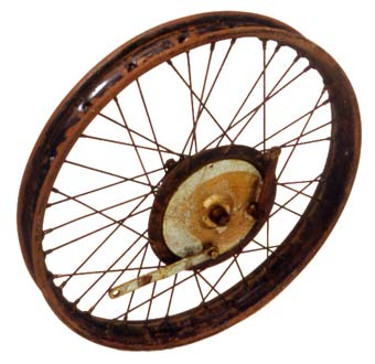 Douglas motorcycle wheel 4