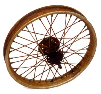 Douglas motorcycle wheel 5
